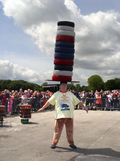 11 TYRE WORLD RECORD SET AT BANDS HATCH