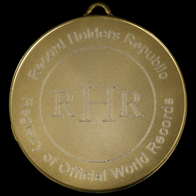 The new RHR Medal - front view